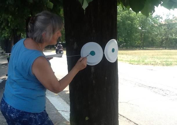 protesta alberi