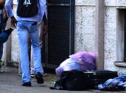 Protesta profughi Busto Arsizio 6 -7-2015