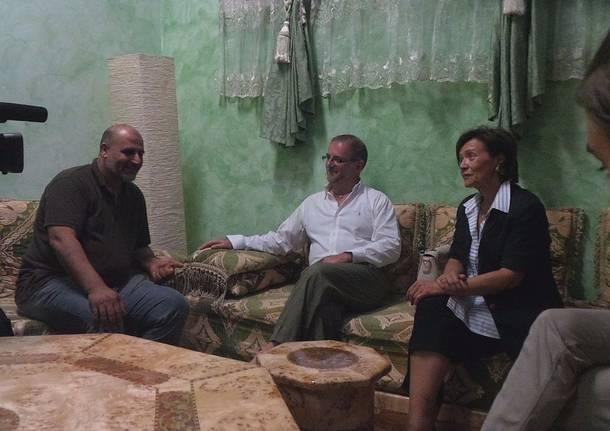 Ramand a Saronno: Sadok Hammami, Pierangela Vanzulli, Gianangelo Tosi
