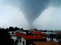 tornado tromba d'aria maltempo venezia veneto