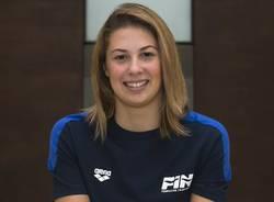 arianna castiglioni team insubrika nuoto nazionale italia