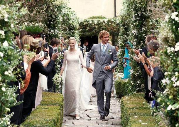 Beatrice Borromeo e Pierre Casiraghi: il matrimonio