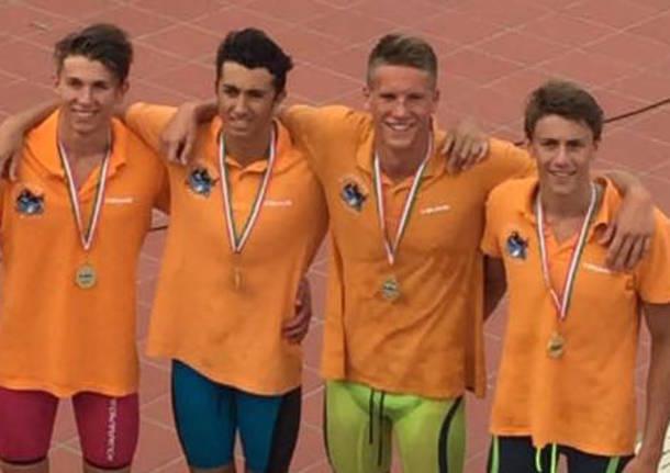 brebbia nuoto campionati italiani ragazzi
