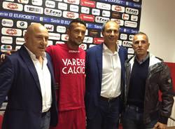Calcio Varese presentazione Ignacio Pià