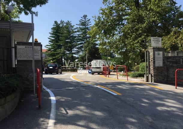 cambia l'ingresso all'ospedale di Varese