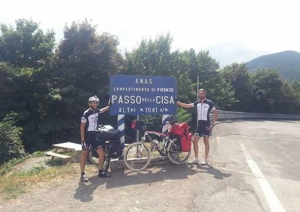 Da Cardano alla Sicilia in bici