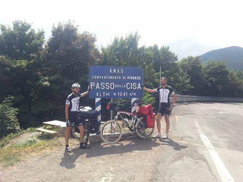 Cardano-Sicilia in bici