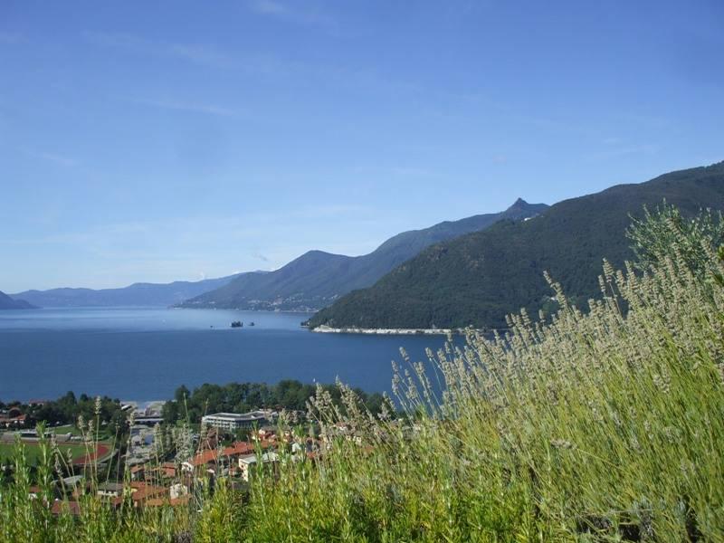 Il Lago Maggiore dalla sponda lombarda