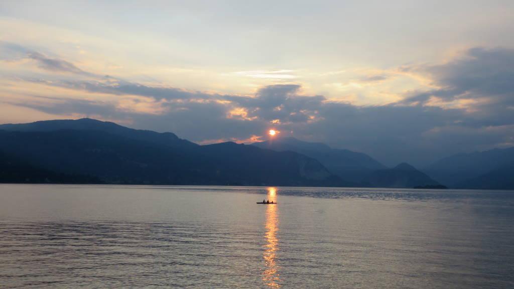 Sul lago a Reno di Leggiuno