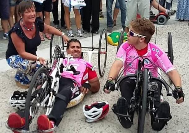 Dalla Sicilia a Expo con la handbike