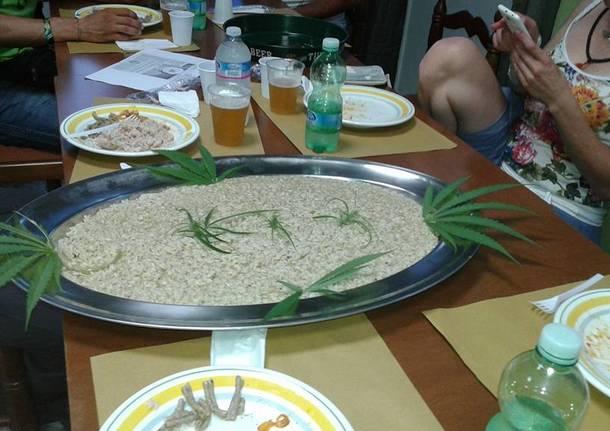 festa canapa marijuana orino