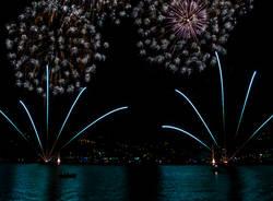 Fuochi d'artificio a Ranco