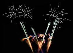 Fuochi d'artificio a San Domenico