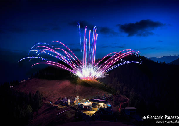 Fuochi d'artificio a San Domenico