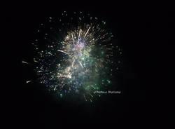Fuochi d'artificio laveno Mombello