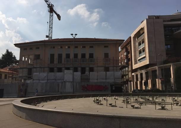 gallarate piazza san lorenzo