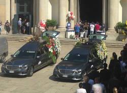 I funerali di Marco e Nicolò