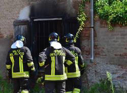 Incendio alla Cascina Burattana