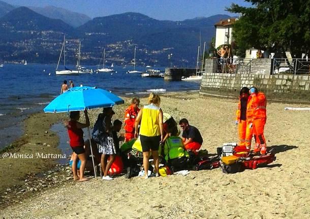 incidente cerro soccorso spiaggia