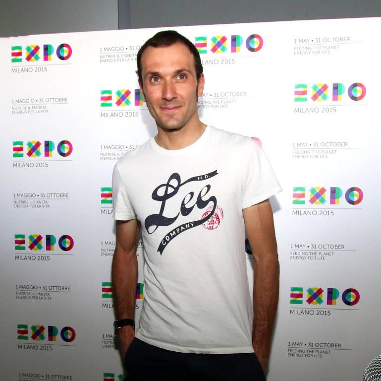 Ivan Basso a Expo 2015