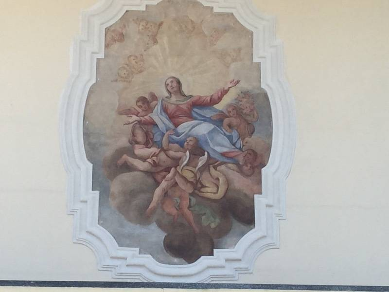 L'affresco di Germignaga