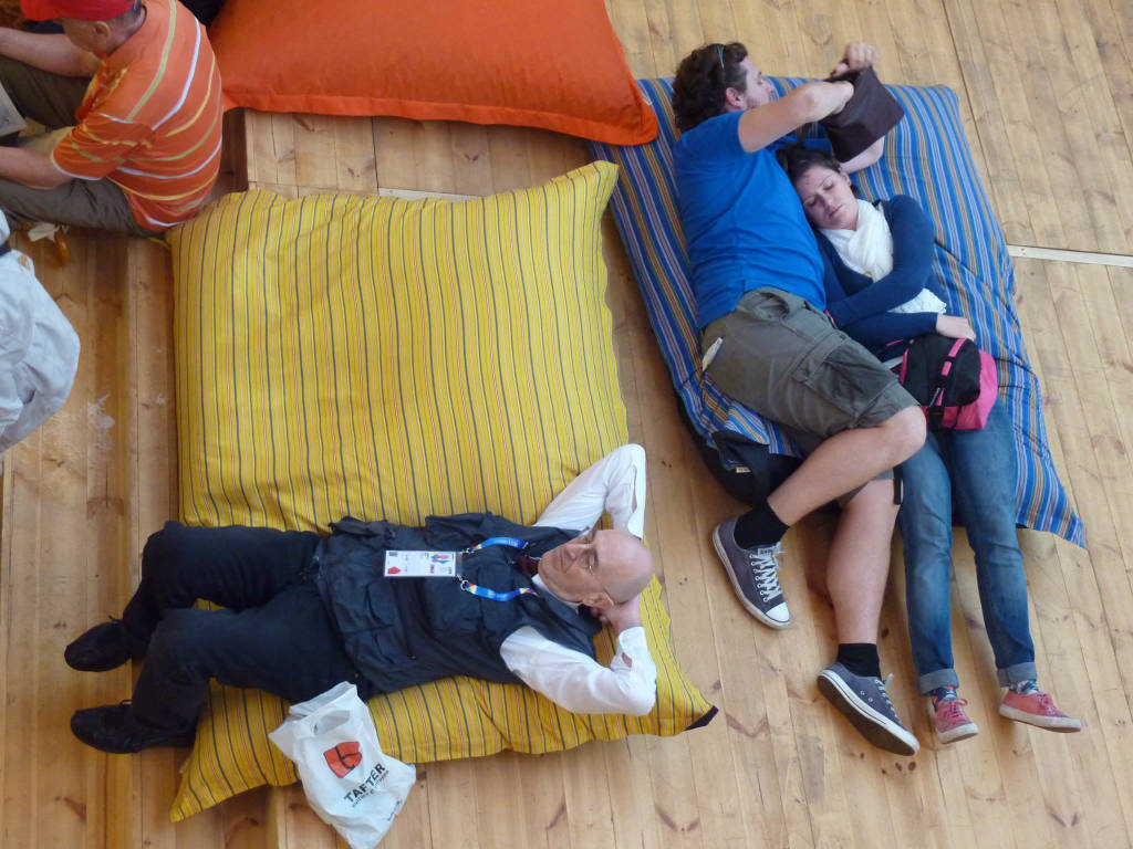 L'arte di riposarsi all'Expo