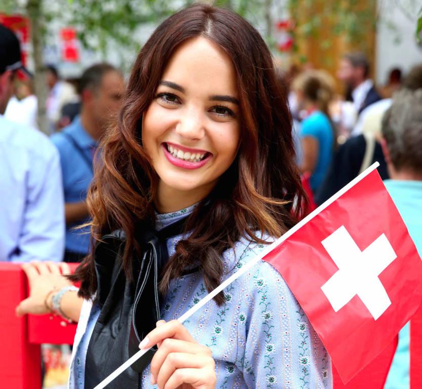 La festa nazionale svizzera ad Expo