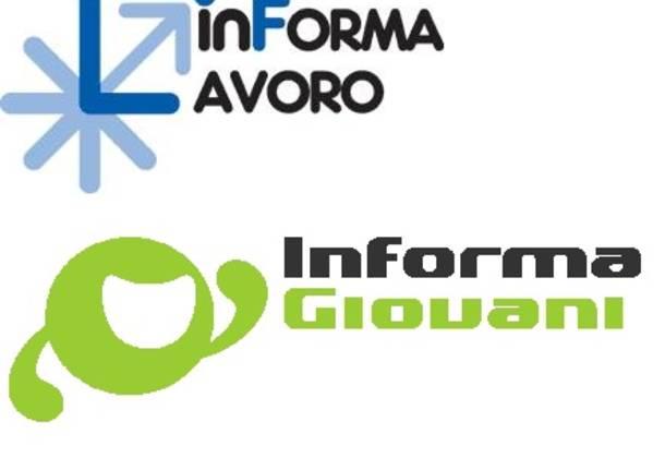 Logo Informagiovani e Informalavoro