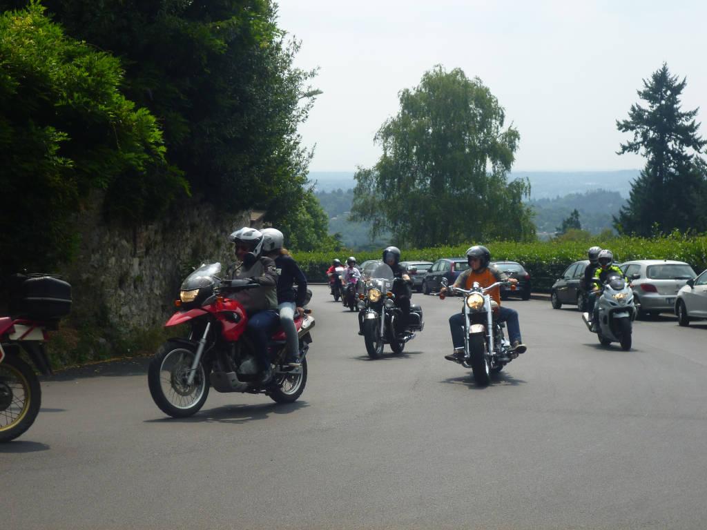 Moto raduno a Varese
