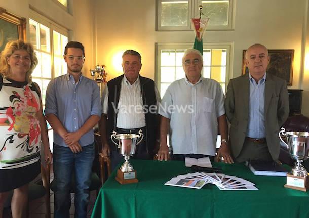 presentazione campionati italiani tennis under 16 gallarate