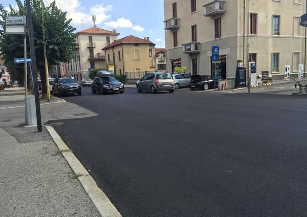viale belforte asfaltature segnaletica