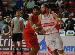 Amichevole basket Openjobmetis - Sam Massagno precampionato 2015-16