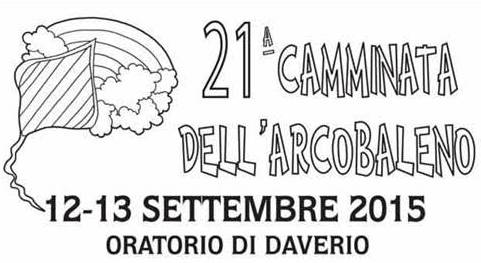 camminata dell'arcobaleno daverio