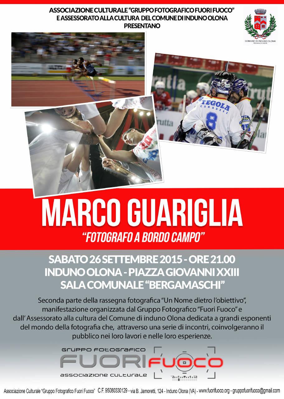 """Rassegna Fotografica \""""Un Nome dietro l\'obiettivo\"""" - Marco Guariglia"""