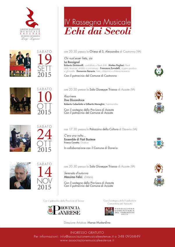 IV Rassegna Musicale Echi dai Secoli - C\'era una volta:  J. L. K. e W. K. Grimm: I Musicanti di Brema