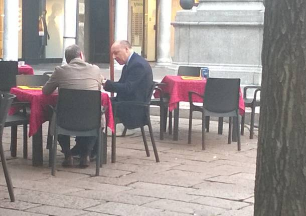 Beppe Marotta a Varese