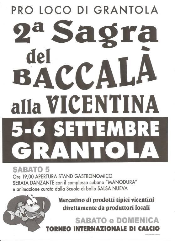 2° Sagra del Baccalà alla Vicentina