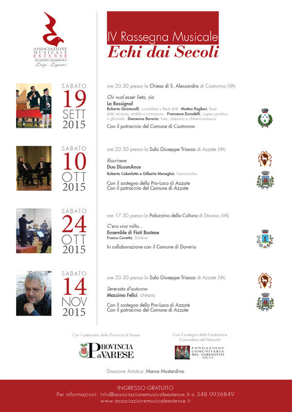 IV Rassegna Musicale Echi dai Secoli - Massimo Felici, chitarra