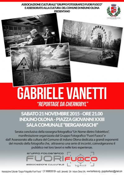 """Rassegna Fotografica """"Un Nome dietro l'obiettivo"""" – Gabriele Vanetti"""