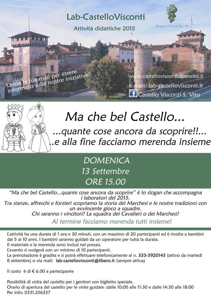 Ma che bel Castello Cosa Fare a Varese