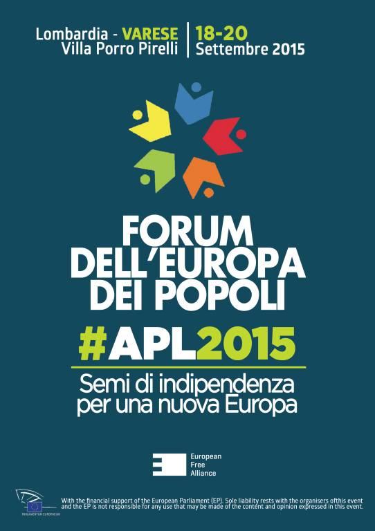 Forum dell\'Europa dei Popoli 2015
