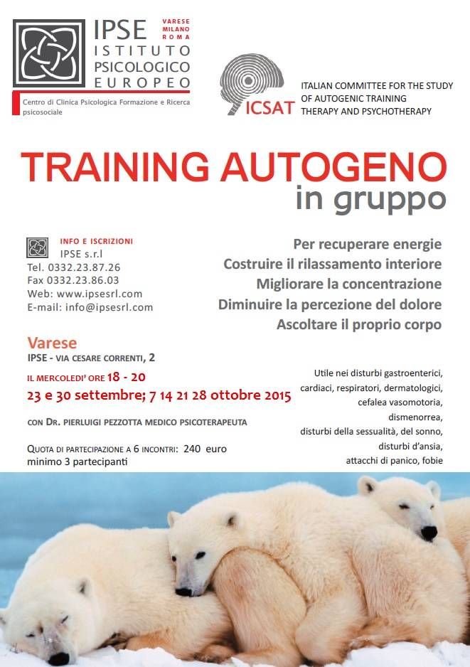 Training Autogeno in gruppo