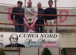 Commemorazione Peo Maroso Varese Calcio 2015