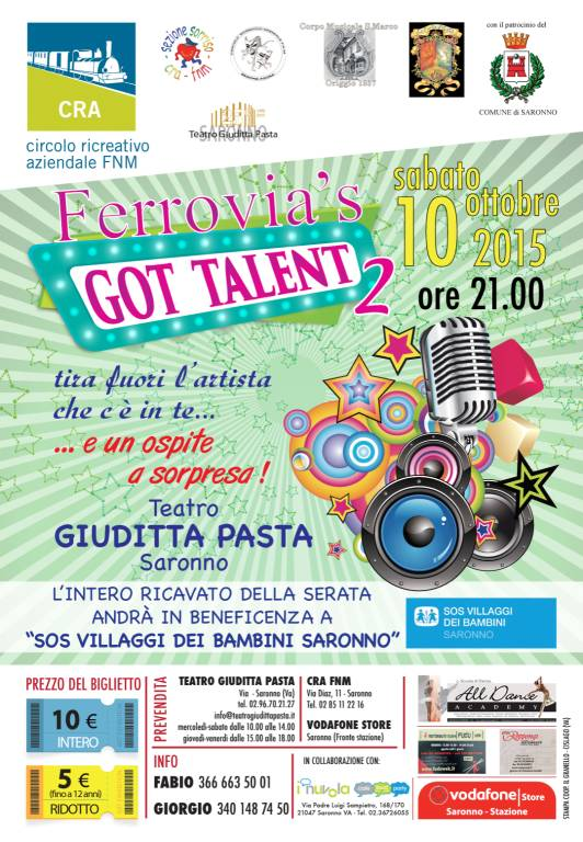 ferriovia's got talent