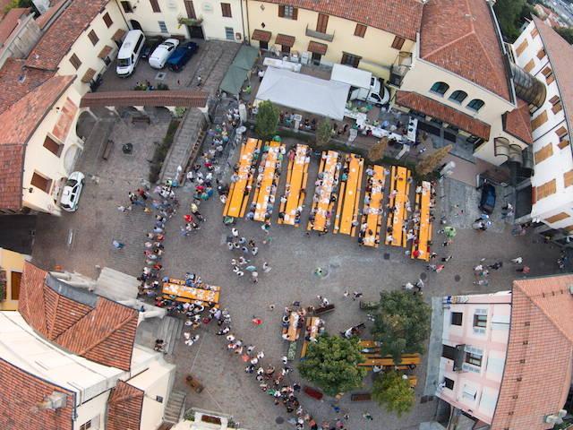 Gnocco Fritto in piazza a Gemonio - 2015