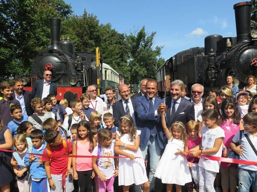Inaugurazione Ogliari a Volandia