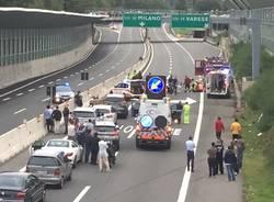 incidente autostrada a26