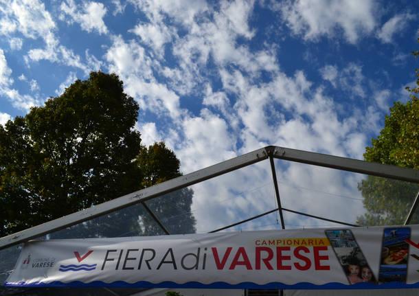 L'inaugurazione della Fiera di Varese