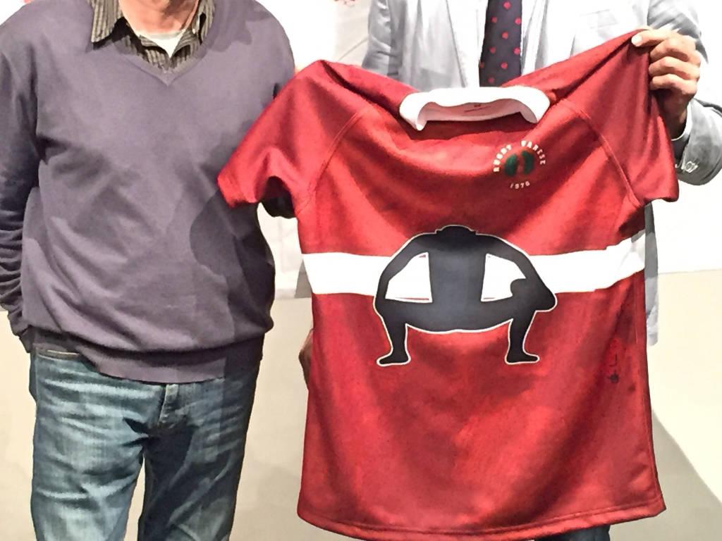 La nuova maglia d'artista del Rugby Varese