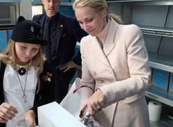 Le principesse del Liechtenstein a Expo